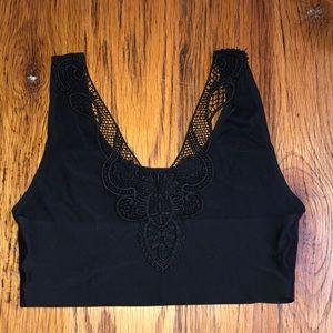 Other - lace-back sports bra